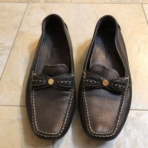 Cole haan driving shoes or loafers brown 7.5 AA